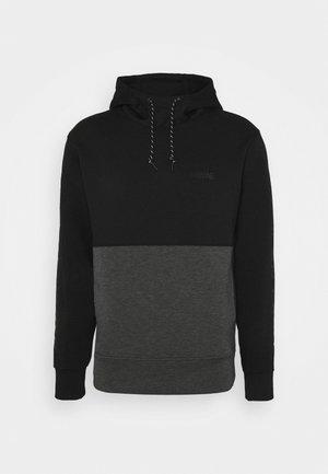 COLOR BLOCK PERFORMANCE  - Långärmad tröja - black