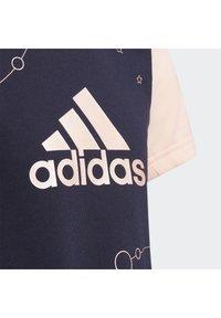 adidas Performance - T-Shirt print - blue - 4