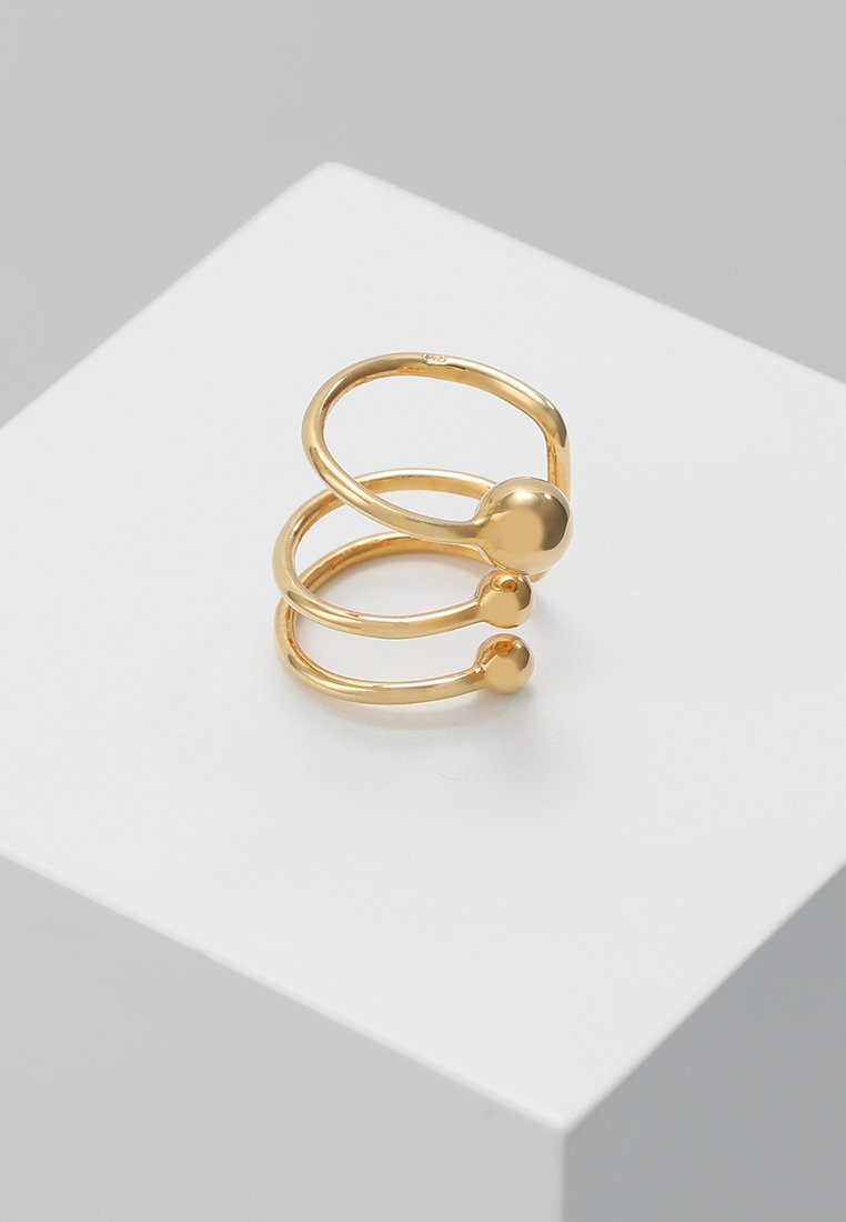 Vibe Harsløf - ANNA EARCLIP PIERCING - Earrings - gold-coloured
