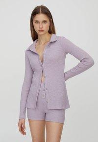 PULL&BEAR - Cardigan - purple - 0