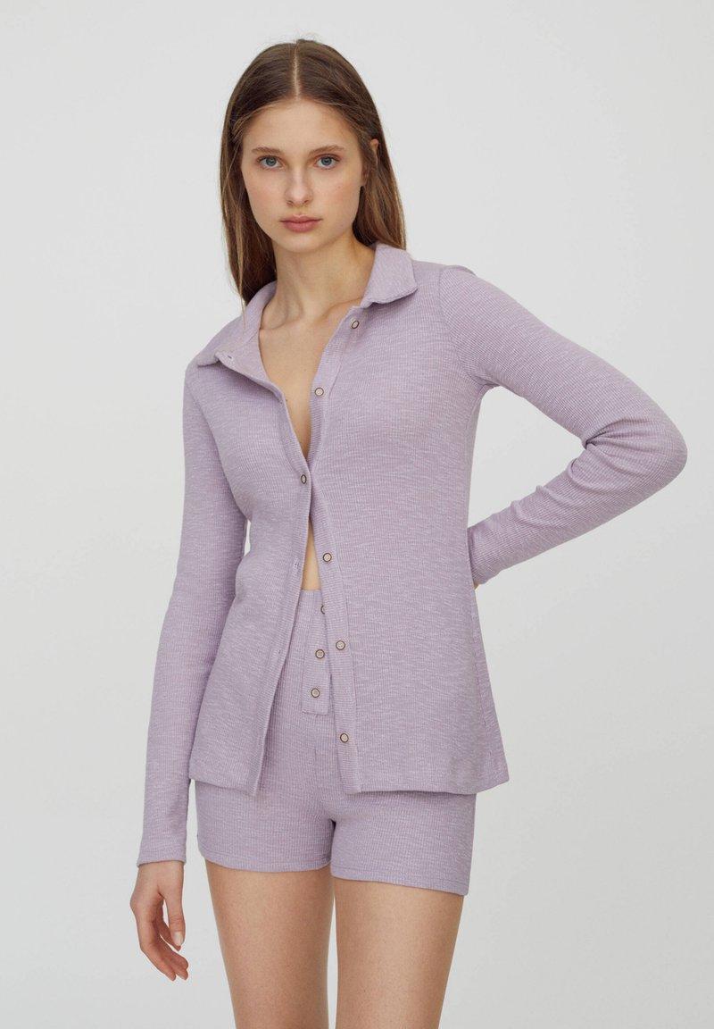 PULL&BEAR - Cardigan - purple