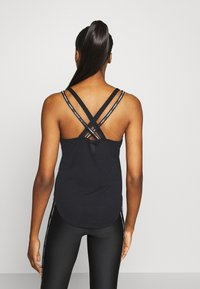Under Armour - SPORT X BACK TANK - T-shirt de sport - black - 2
