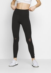 Superdry - TRAINING DYNAMIC LEGGINGS - Punčochy - black - 0