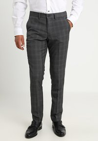 Lindbergh - MENS SUIT SLIM FIT - Completo - grey check - 4