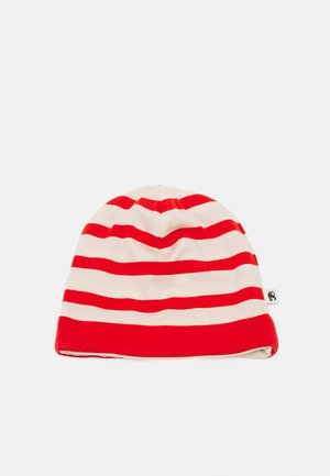 STRIPE BEANIE - Pipo - red