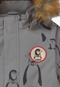 Mini Rodini - PENGUIN - Winter coat - grey - 5