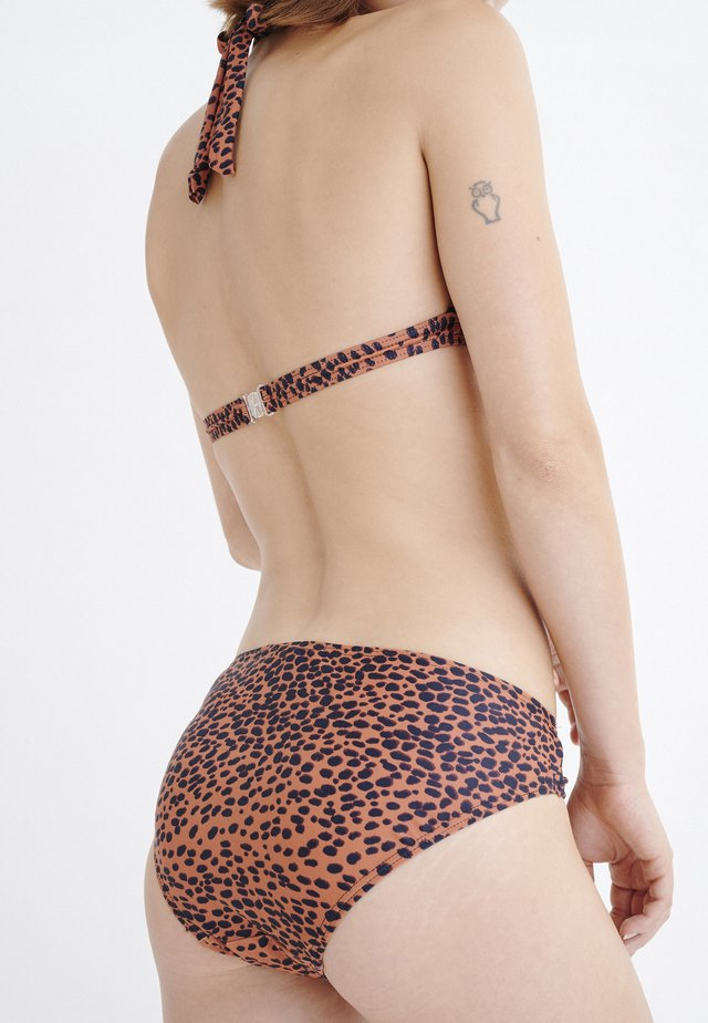KORONA - Bikinibroekje - brown
