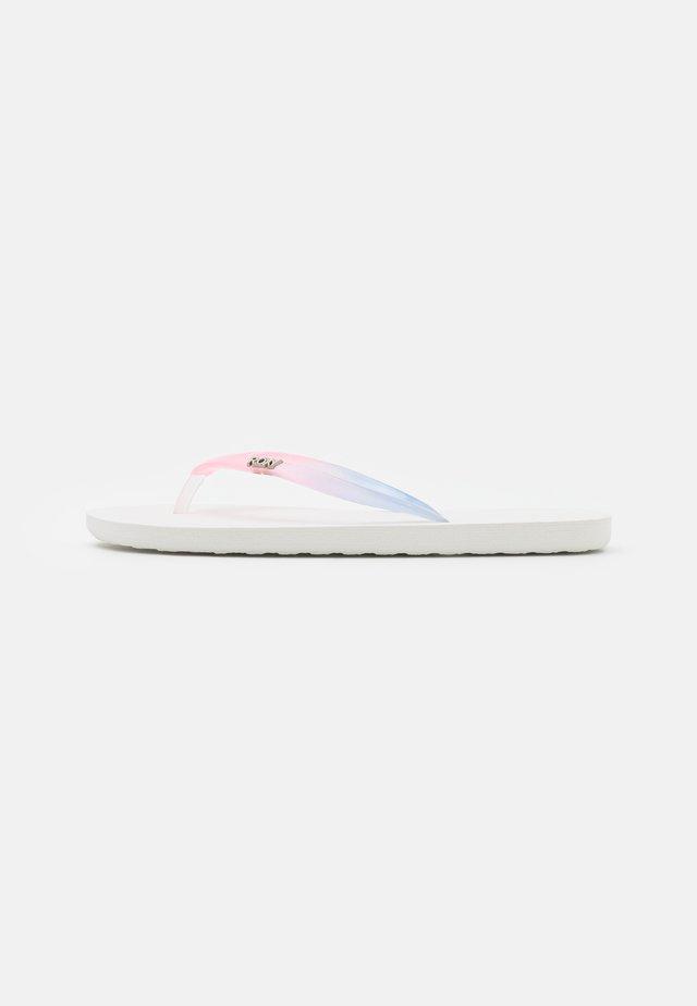 VIVA GRADIENT - Teensandalen - white/pink