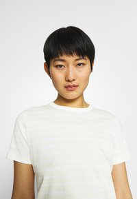 Tommy Hilfiger - COOL TEE - Print T-shirt - classic breton/frosted lemon - 3