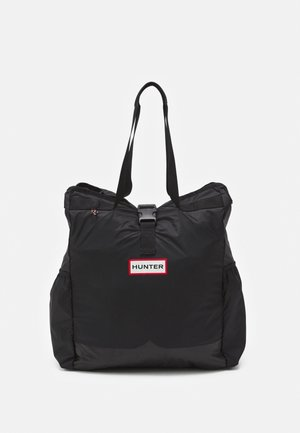 PACKABLE TOTE UNISEX - Shopping Bag - black