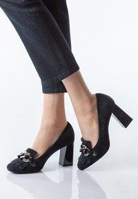 TJ Collection - High heels - dark blue - 0