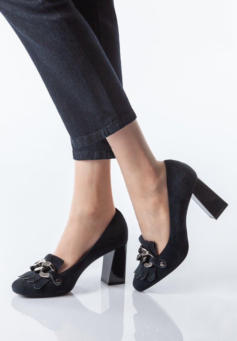 TJ Collection - High heels - dark blue