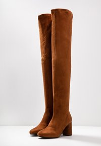 Anna Field - Over-the-knee boots - cognac - 2