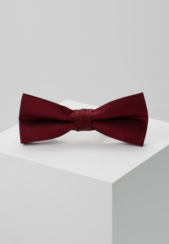 SOLID BOWTIE - Noeud papillon - red