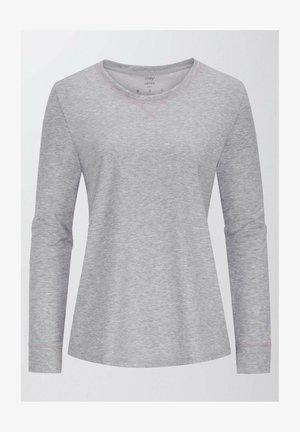 ZZZLEEPWEAR - Pyjama top - stone grey melange