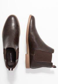 YOURTURN - Classic ankle boots - dark brown/cognac - 1
