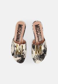 MOSCHINO - Mules - fantasy color - 4