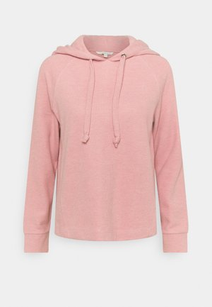 BRUSHED HOODIE - Hoodie - cozy rose