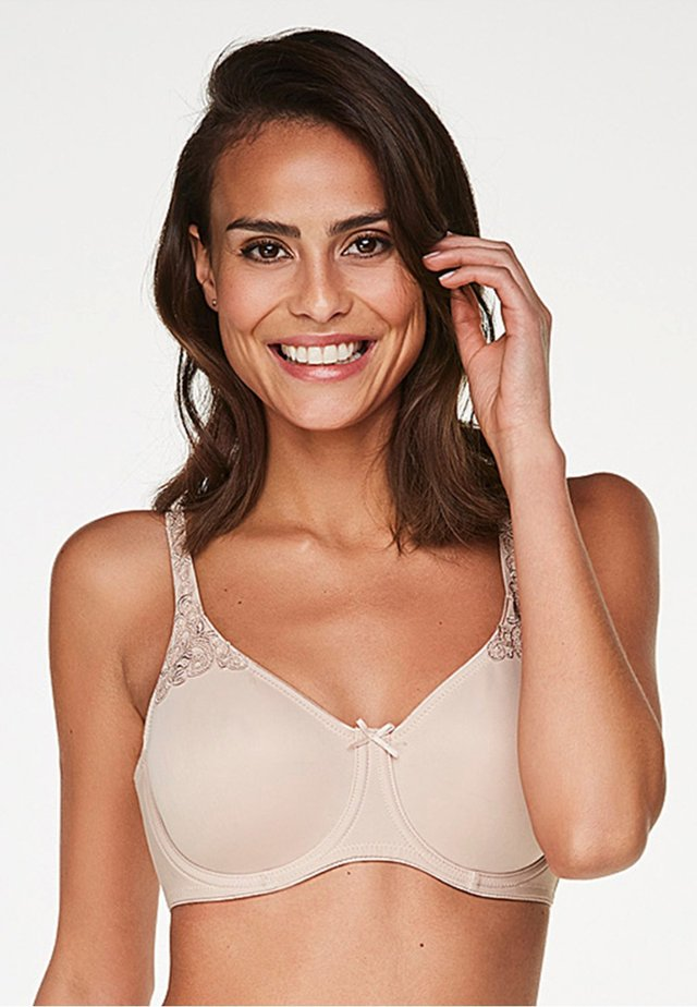 UNWATTIERTER MINIMIZER- - T-shirt bra - tan