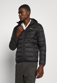 Jack & Jones - JJVINCENT PUFFER HOOD - Zimní bunda - black - 0