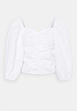 UMA BLOUSE - Longsleeve - white light
