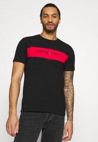 Alessandro Zavetti - RIMASCO TEE - Print T-shirt - black - 4