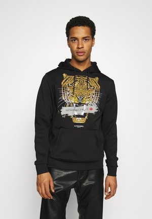 SAVAGE HOOD - Sweatshirt - black