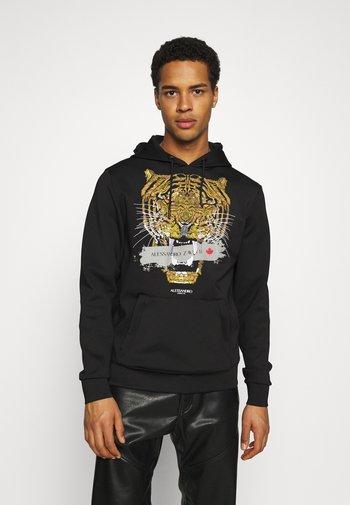 SAVAGE HOOD - Sweatshirt - black