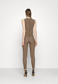 Pinko - GELOSO STRETCH LOGO - Leggings - tan - 2