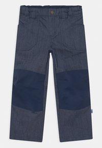 Finkid - KALLE HUSKY UNISEX - Outdoorové kalhoty - blue denim - 0