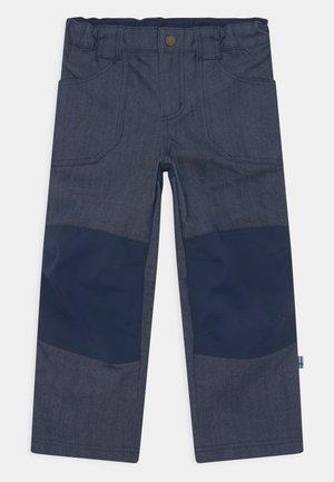 KALLE HUSKY UNISEX - Outdoorové kalhoty - blue denim