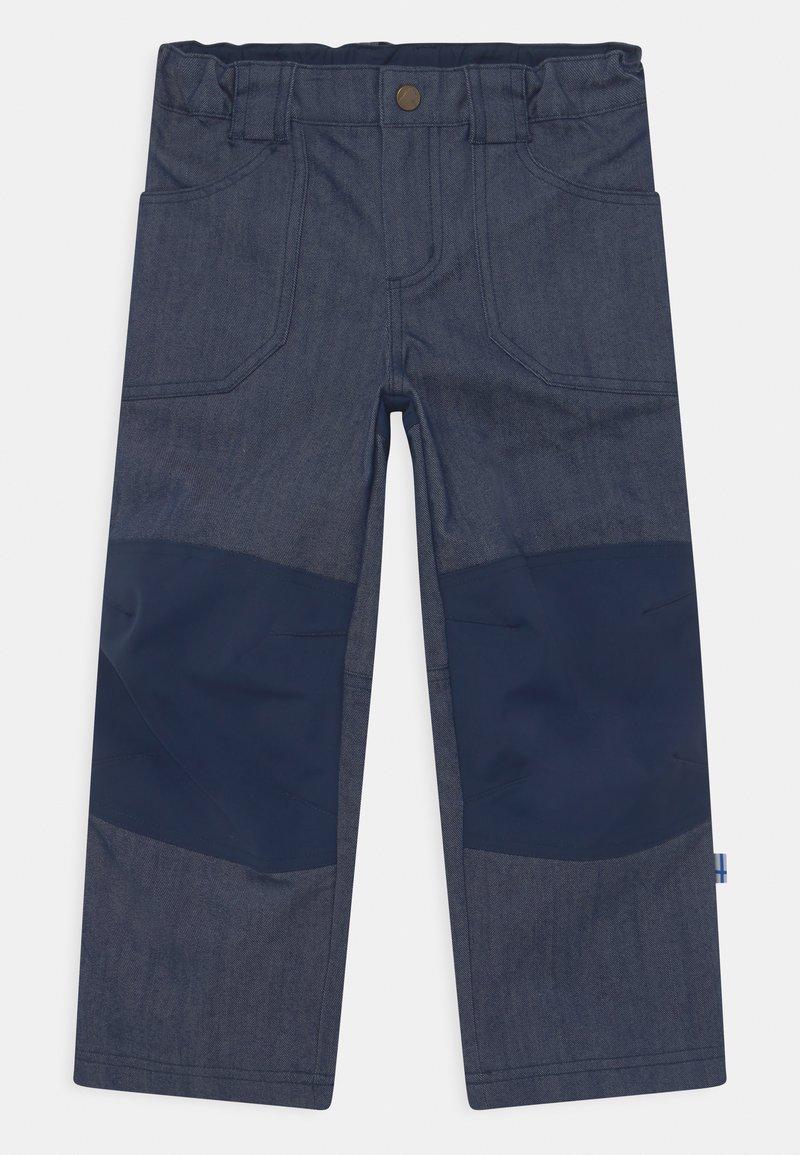 Finkid - KALLE HUSKY UNISEX - Outdoorové kalhoty - blue denim