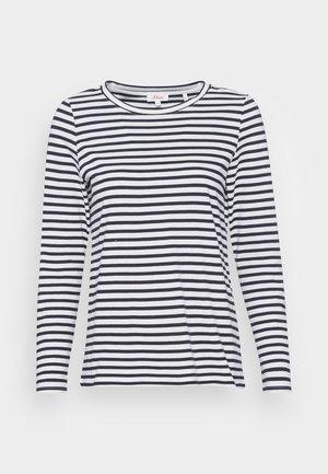 Top sdlouhým rukávem - navy stripe