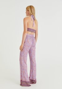 PULL&BEAR - Trousers - lilac - 2