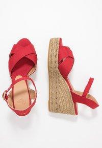 Castañer - BLAUDELL - Sandály na vysokém podpatku - rojo - 3