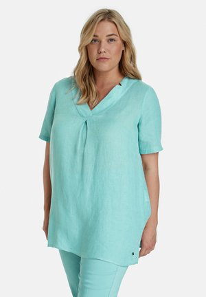 Blouse - cameo blue