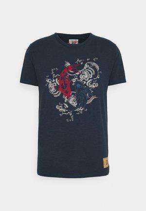 KOI - T-shirt con stampa - navy