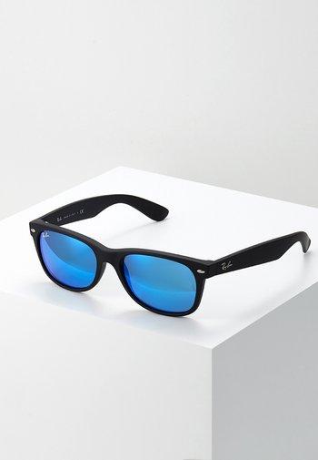 Sunglasses - black/grey/mirror blue