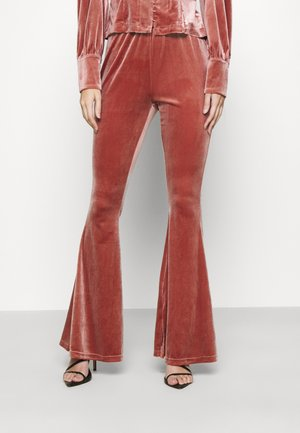 LADIES TROUSERS - Trousers - rose