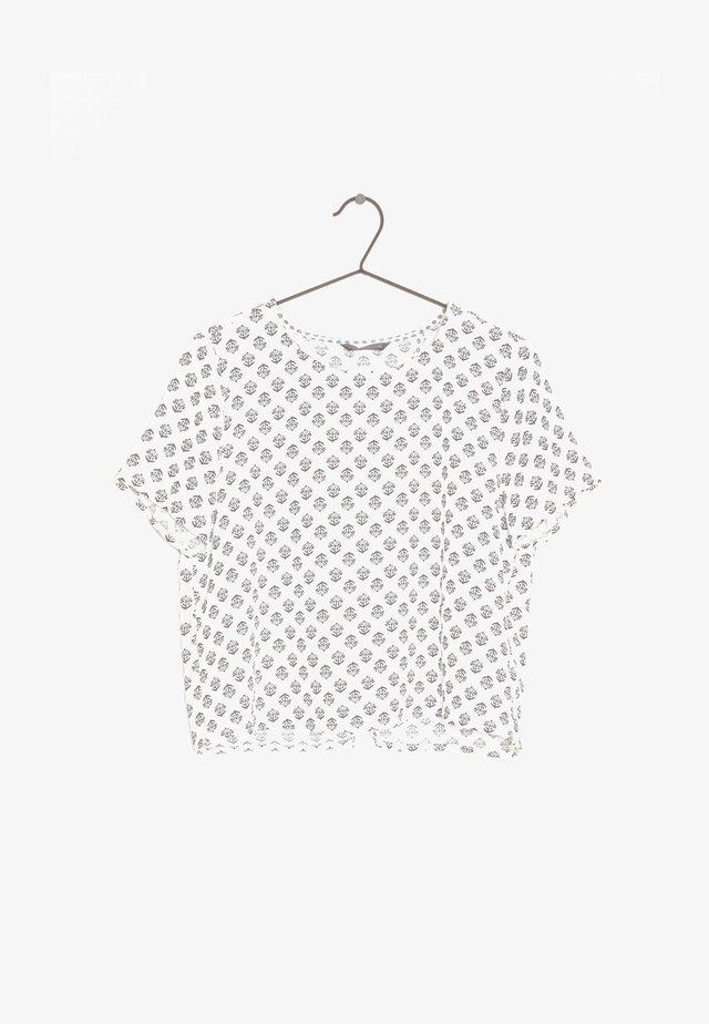 Camiseta estampada - white