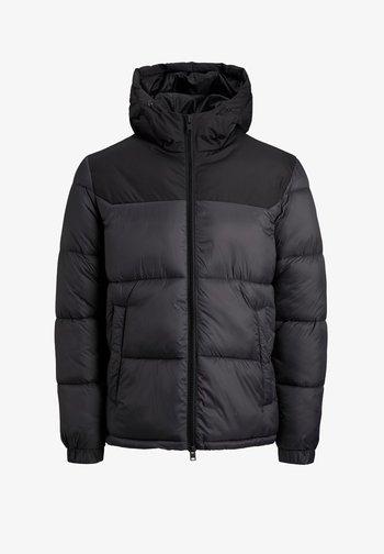 JJDREW PUFFER HOOD - Winter jacket - asphalt