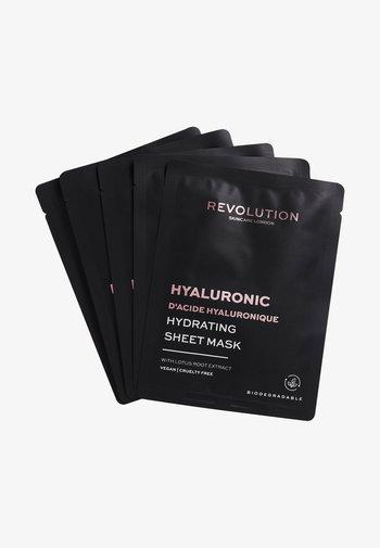 BIODEGRADABLE HYDRATING HYALURONIC ACID SHEET MASK - Skincare set - -