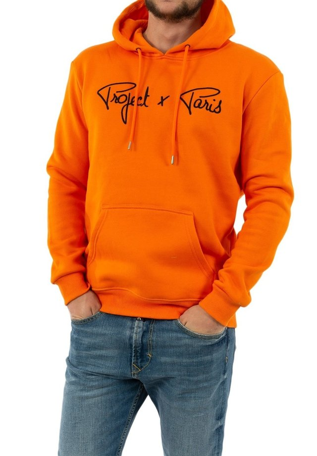 Sweat à capuche - orange
