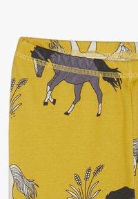 Walkiddy - Leggings - dark yellow - 3