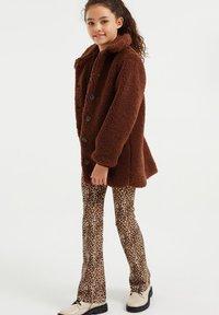 WE Fashion - TEDDY  - Winter coat - dark brown - 0