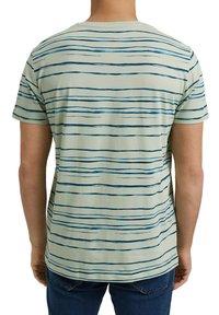 Esprit - Print T-shirt - pastel green - 5