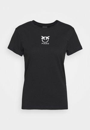 BUSSOLANO - T-shirt imprimé - black