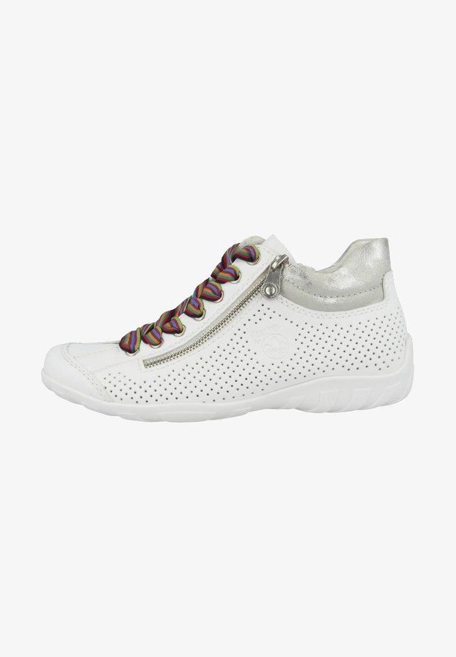 Baskets basses - white-fog silver