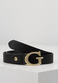 Guess - LILA ADJUSTABLE PANT BELT - Belt - black - 0