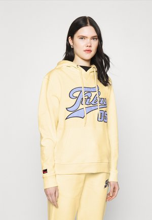 VARSITY HOODE - Sweatshirt - beige